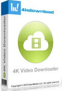 4K Video Downloader 4.8.0.2852 Crack With Activation Key Free Download 2019